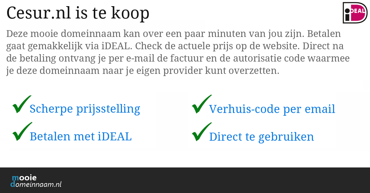 (c) Cesur.nl